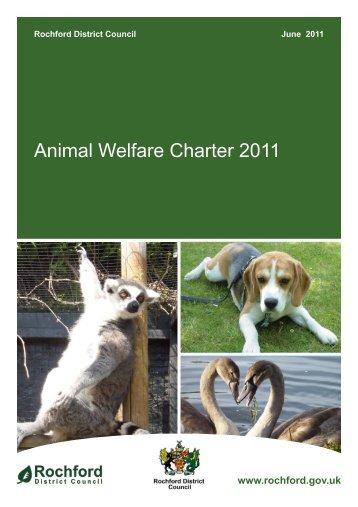 Animal Welfare Charter 2011 - Amazon Web Services