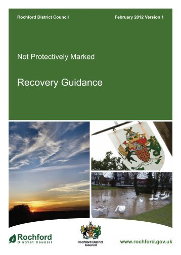 Recovery Guidance - Amazon Web Services