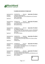 Monthly Planning Applications October 2007 - Amazon Web Services