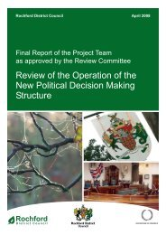 Review of the Operation of the New Political Decision Making ...