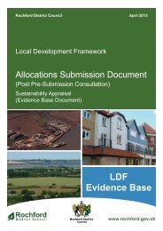 Allocations Submission Document Sustainability Appraisal