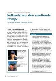 Indlandsisen, den smeltende kæmpe - Det grønlandske Selskab