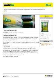 Leca® Safe - Saint-Gobain Weber A/S - XL-online