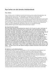 Nye tanker om det danske istidslandskab (PDF ... - Ny Hammersholt