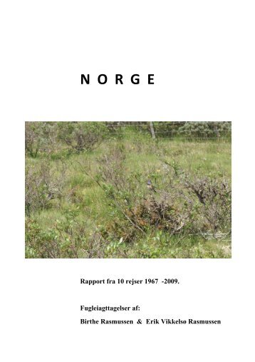 N O R G E - Netfugl.dk