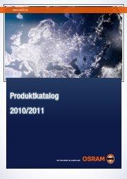 Osram lyskilder 2010-2011 - Frizen AS