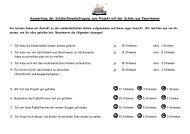 Auswertung der Schülerinnenbefragung zum Projekt ... - Ansgarschule