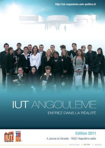 Mise en page 1 - IUT Angoulême - Université de Poitiers