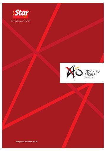 ANNUAL REPORT 2010 - ChartNexus