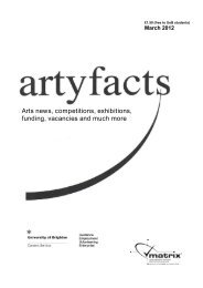 Arts news, competitions, exhibitions, funding, vacancies - Careers ...