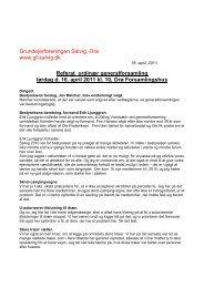 Referat ordinær generalforsamling lørdag d. 16. april 2011 kl. 10 ...