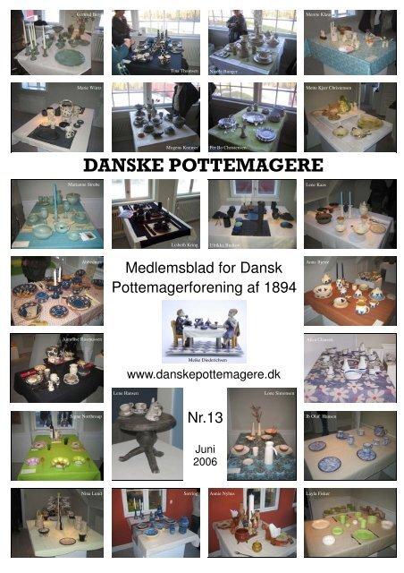 2006 - Medlemsblad nr. 13 - Pottemagere   Keramiker