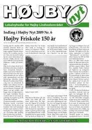 Højby Friskole 150 år & Friskolen ved åsen - Højby Nyt