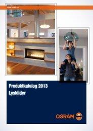 Produktkatalog 2013 Lyskilder - Osram