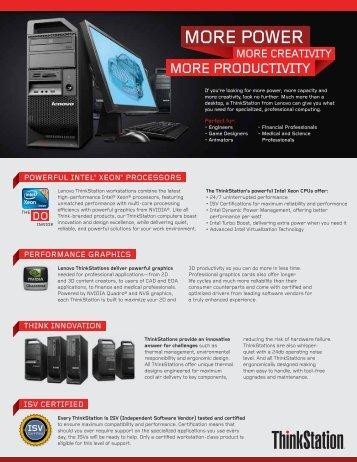 powerful intel® xeon® processors performance graphics think ...