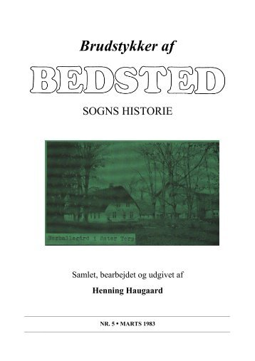 Hefte 5, side 121-152 - Bedsted Sogns