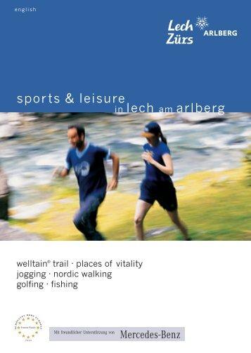 Broschuere, Sport & Freizeit, E:3331 05 sport freizeit welltain e