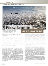 Fisk, familie - Selskab for Bibelsk Arkæologi