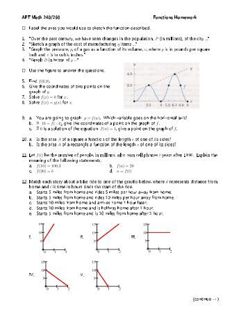 Transcendental functions and integration homework answers