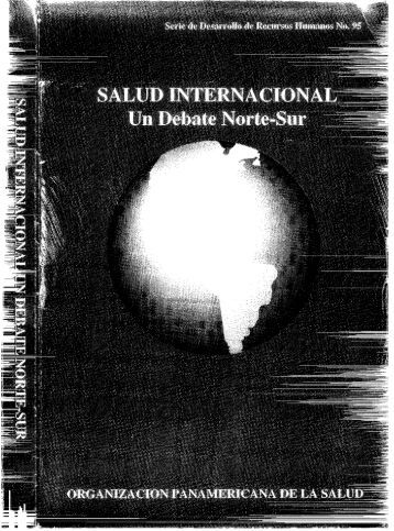 SALUD INTERNACIONAL Un Debate Norte-Sur - PAHO/WHO