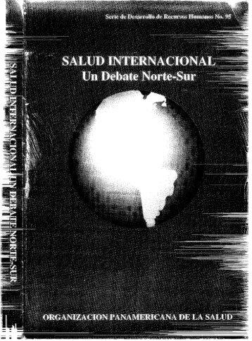 SALUD INTERNACIONAL Un Debate Norte-Sur - PAHO/WHO
