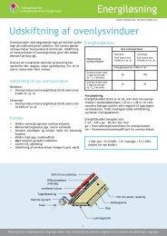 Energiløsning: Udskiftning af ovenlysvinduer pdf - Videncenter for ...
