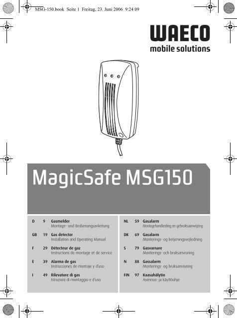 MagicSafe MSG150 - Waeco