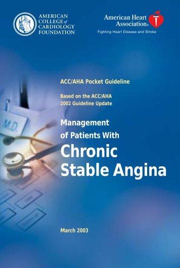 Chronic Stable Angina
