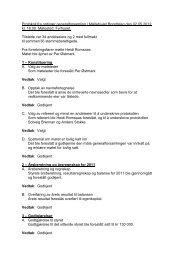 Protokoll fra ordinær generalforsamling i Møllehjulet ... - Herborvi.no