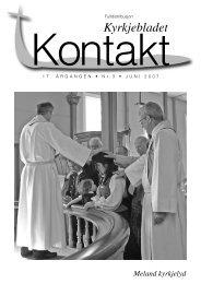 Kyrkjebladet - Meland kyrkjelyd