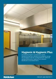 Hygienic & Hygienic Plus - Rockfon