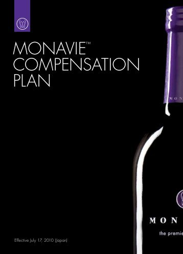 MONAVIE™ COMPENSATION PLAN - On the Move Media Center ...