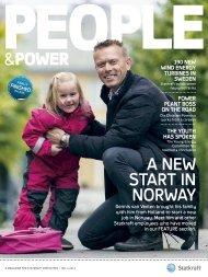 A New STArT iN NorwAy - Statkraft