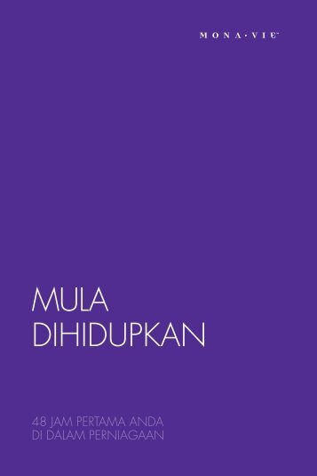 MULA DIHIDUPKAN - MonaVie