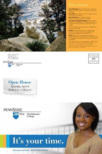 Penn State Self Guided Tour