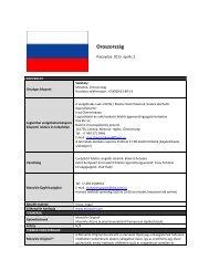 Oroszország - On the Move Media Center - MonaVie
