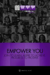 MVP Empower You - On the Move Media Center - MonaVie