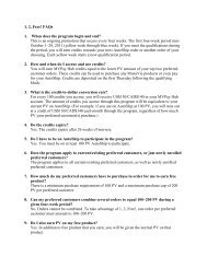 1, 2, Free! FAQs 1. When does the program begin and ... - MonaVie