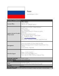 Russia - On the Move Media Center - MonaVie