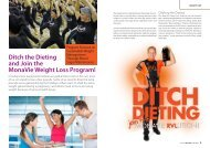 Ditch the Dieting and Join the MonaVie Weight Loss Program!