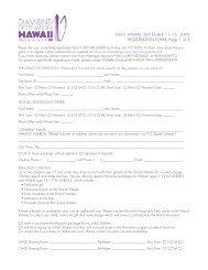 MAUI, HAWAII, SEPTEMBER 11–16, 2009 ... - MonaVie