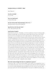 Arbejdererindring J.nr. 03/058/01 - Mand Jeg er Regner M. Hvornår ...