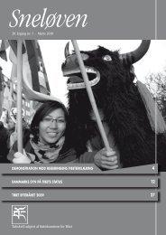 Sneløven 2010, 20. årgang nr. 1 (hent pdf) - Støttekomiteen for Tibet