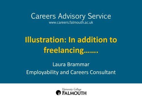 Freelance Illustrator - Careers Advisory Service