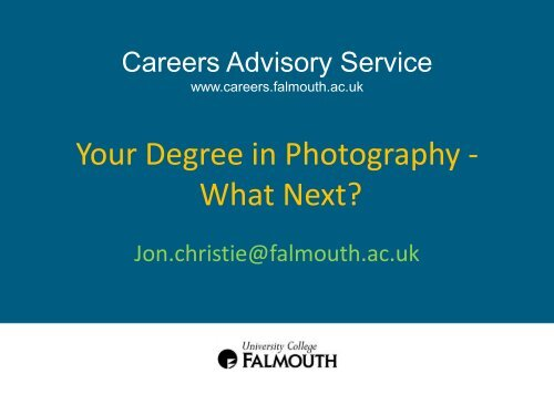 Your Degree In Photography What Next Careers Advisory
