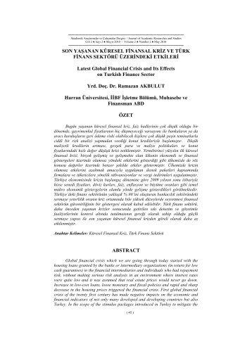 Tam Metin - PDF