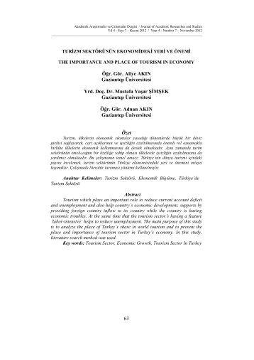 Tam Metin - PDF - İktisadi ve İdari Birimler Fakültesi