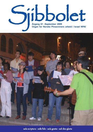 Årgang 61 september 2009 - Sjibbolet