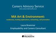 Residencies - Careers Advisory Service