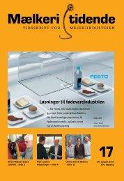 Løsninger til fødevareindustrien - Mælkeritidende